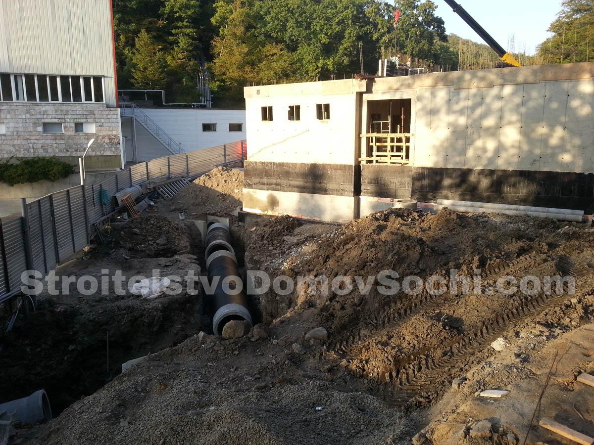 Монтаж ливнёвой канализации