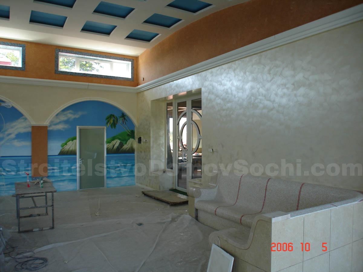 Устройство декоративных бетонных элементов